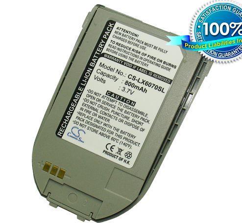 LG 6070, LG6070, G6070 / harmaa akku 800 mAh