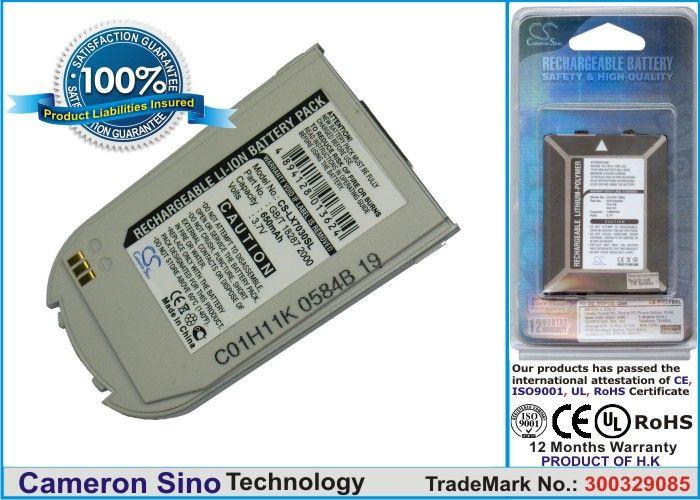 LG 7030, LG7030, G7030 / hopea akku 650 mAh