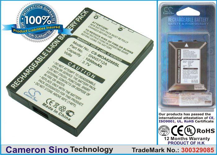 Cameron Sino tarvikeakku Motorola A6088, A6188, A6288, Accompli A008, A009 akku 1050 mAh
