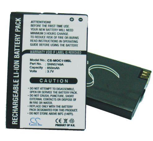 Motorola C115, C116, C117, C118, C155, C157, V170, V171, V173, C139, V150, V151 akku 850 mAh