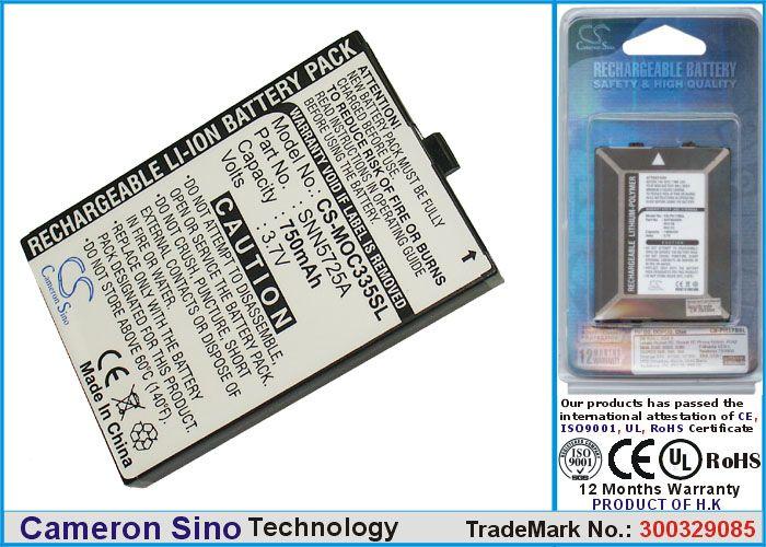 Cameron Sino tarvikeakku Motorola C300, C335 akku 750 mAh