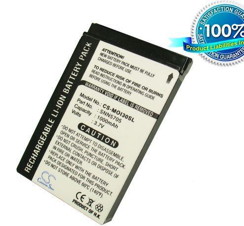Cameron Sino tarvikeakku Motorola i870, i450, i415, i760, i730, i265, i860, i215, i90, i530, i30, i60, akku 1000 mAh