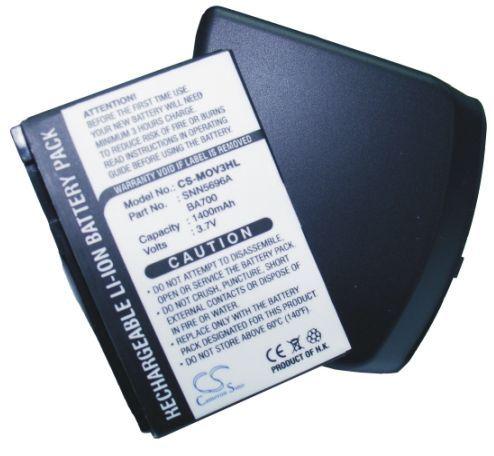 Motorola V3 tehoakku 1400 mAh - Harmaa takakansi