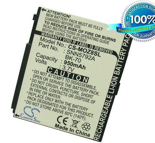 Cameron Sino tarvikeakku Motorola MOTO Z8, IC402, IC502, ic602, The Blend, The Buzz, i335, Sideklck-slide akku 950 mAh