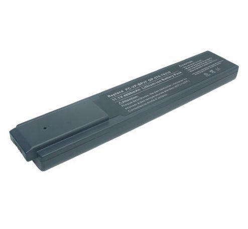 NEC Lavie N PC-LN300CD, Versa S3000-725CMH, Lavie N PC-LN500CD akku 4800 mAh