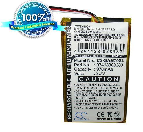 Sony MX-M70, MX-M75, MX-M77, PMX-M79, PMX-M86, PMX-M88, PMX-M89 akku 970 mAh