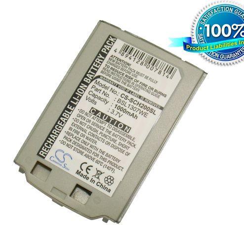 Samsung SCH-S200, SCH-S208 akku 1000 mAh