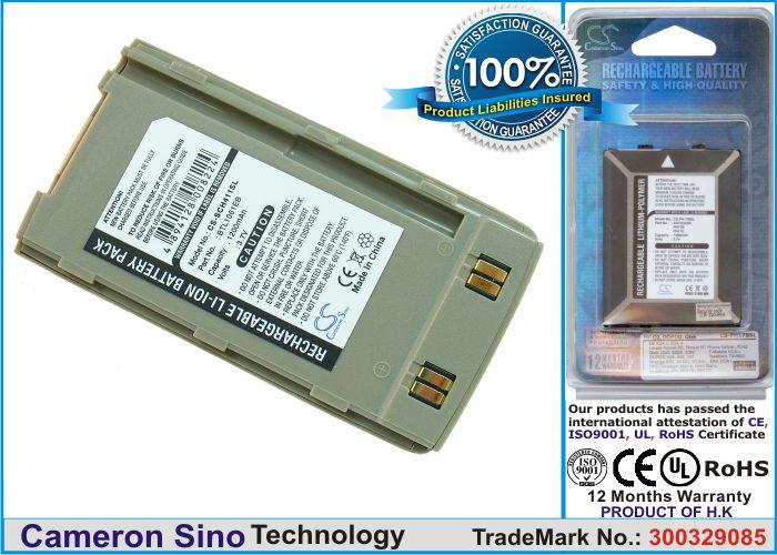 Samsung SCH-411, SGH-410, SCH-2500, S410, S510, S4100 akku 1200 mAh