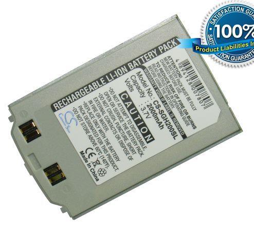 Samsung SGH-S200, SGH-S208, SGH-Q200, SGH-Q208 akku 750 mAh