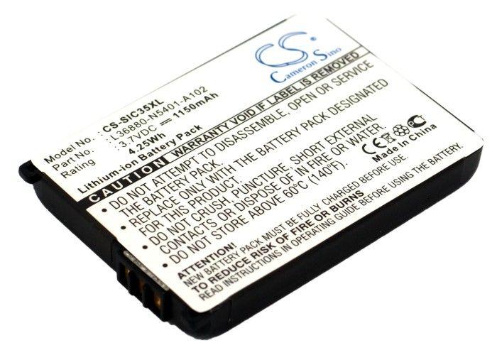 Siemens / Benq C35, S35, M35, 3506, 3508, 3518, 3568, 3608, S46, P35, S47 akku 1150 mAh
