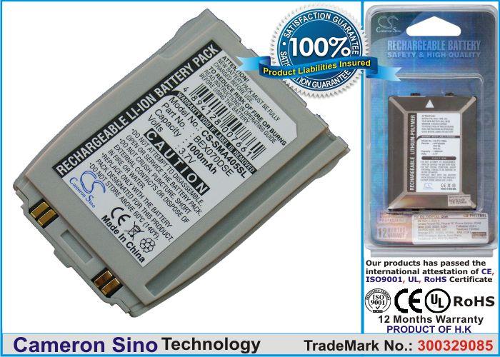 Samsung SPH-A400, SPH-A405, SPH-A250 akku 1000 mAh