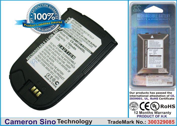 Samsung SPH-A820, SPH-A840, PM-A840 akku 750 mAh