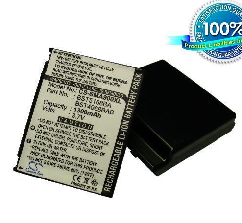 Samsung SPH-A900, MM-A900 tehoakku laajennetulla takakannella 1300 mAh