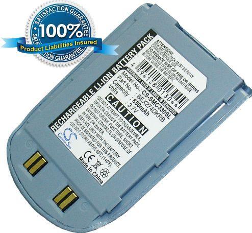 Samsung SCH-N330 / sininen akku 850 mAh