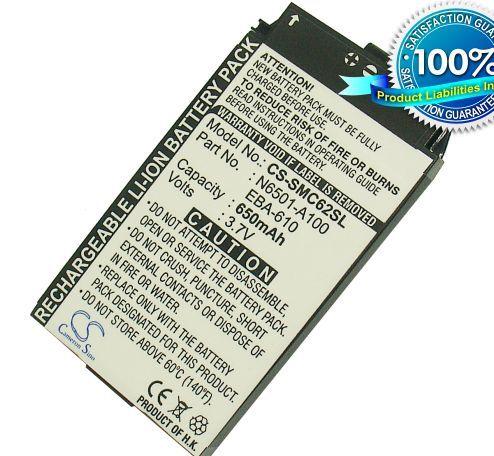 Siemens / Benq C62, X1 akku 650 mAh