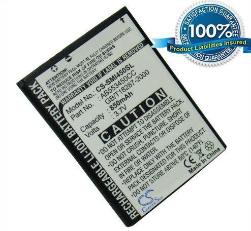 Samsung SGH-i450, SGH-i458 akku 850 mAh