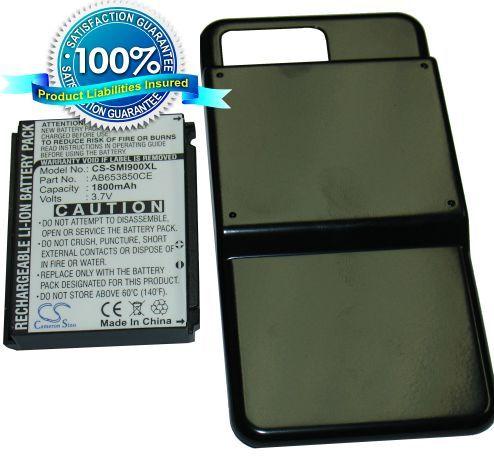Samsung SGH-i900, SGH-i900v, SGH-i908, i900 Omnia akku 1800 mAh