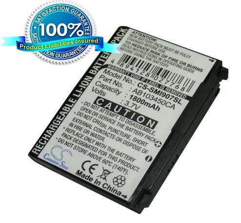 Samsung Epix SGH-i907 akku 1800 mAh