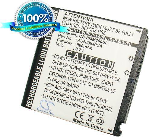Samsung Instinct M800, SPH-M800, M800, SGH-T929 akku 900 mAh