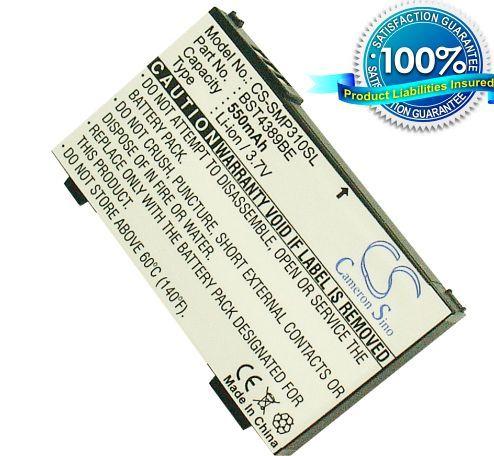 Samsung SGH-P310i, SGH-P310 / musta akku 550 mAh