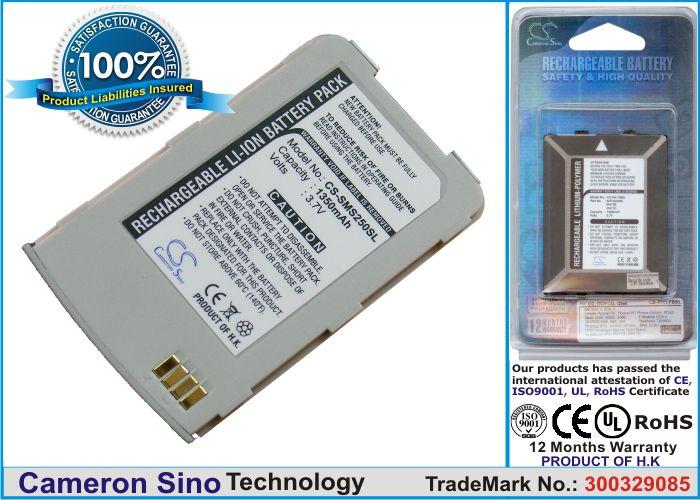 Samsung SCH-S250, SGH-S250 akku 1350 mAh