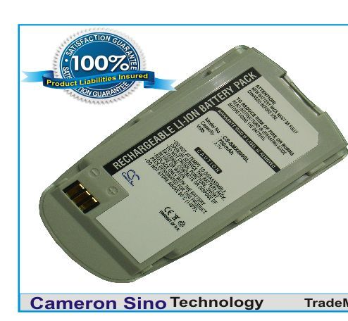 Samsung SGH-X600, SGH-X608, SGH-X659, SGH-N362, SGH-K368 akku 750 mAh