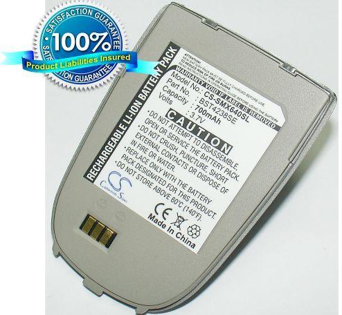 Samsung SGH-X640, SGH-X648, SGH-X636 / hopea akku 700 mAh