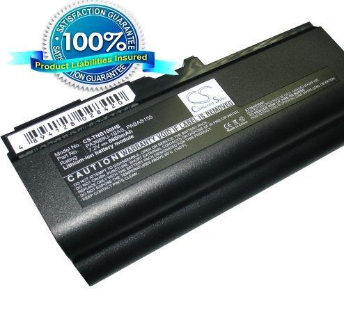 Toshiba Netbook NB100, Netbook NB105 akku 8800 mAh