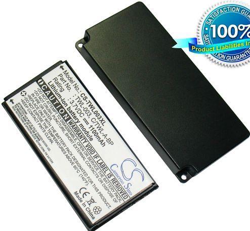 Nintendo DSi NDSi tehoakku erillisellä takakannella 1100 mAh