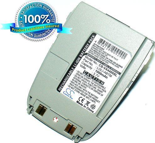 LG VX4400, VX-4400, VX-4400B, 4400, 4000 akku 1000 mAh
