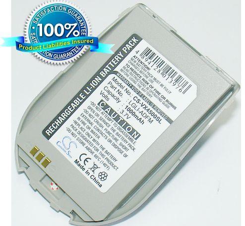 LG VX4500, VX4510, VX-4500, VX-4510 akku 1000 mAh