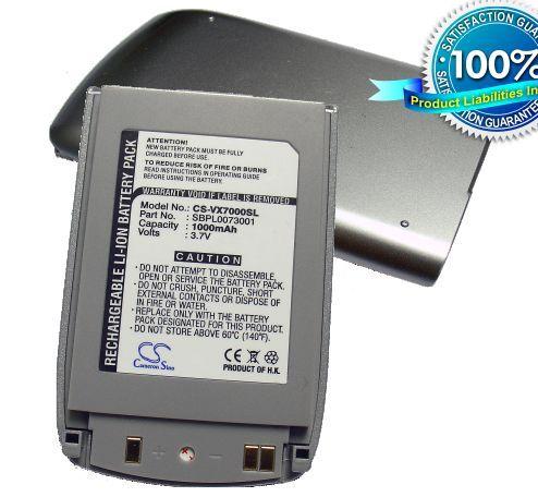 LG VX7000, VX-7000 akku 1000 mAh