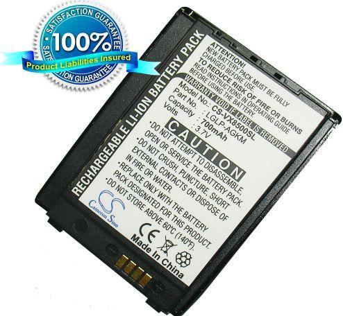 LG VX8500, VX8500r, VX-8500 akku 700 mAh