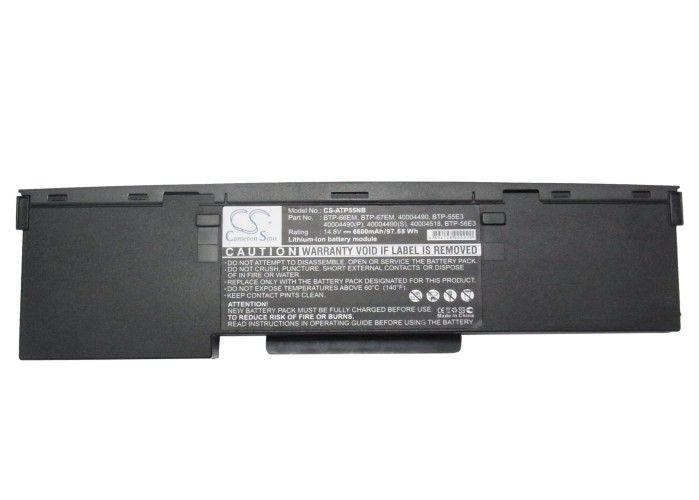 Medion MD40100, MD40673, MD40993, MD41300, MD41700, MD41180 akku 6600 mAh