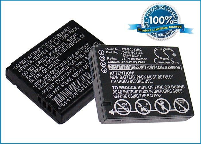 Panasonic DMW-BCJ13, DMW-BCJ13E, DMW-BCJ13PP akku - 850 mAh