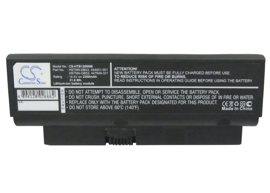 Compaq Presario B1200, HSTNN-DB53 akku 2200 mAh