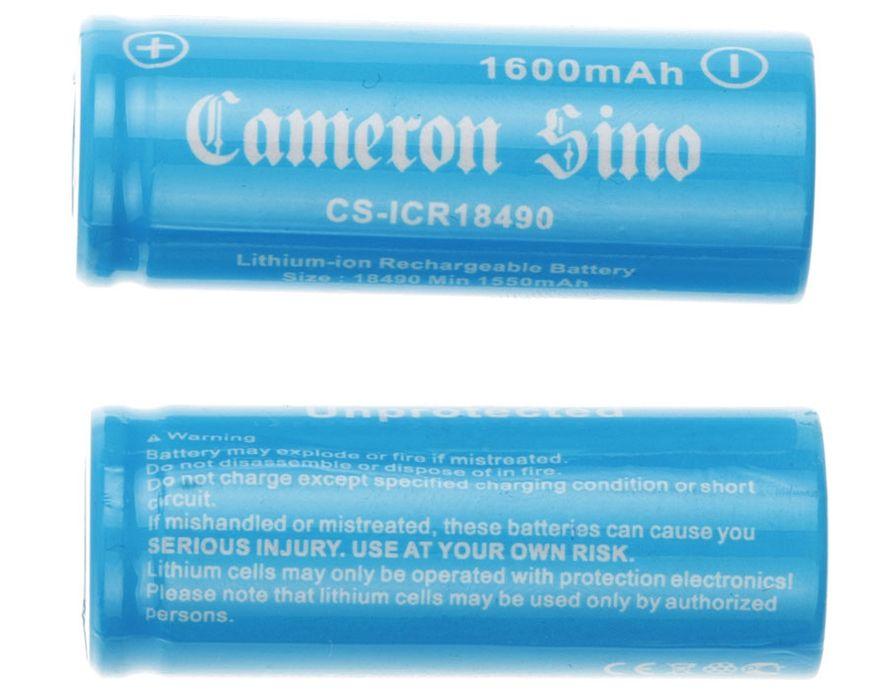 Cameron Sino 18490 Li-ion Akku 2kpl 1600mAh