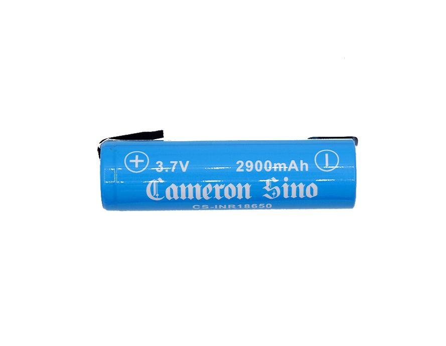 Cameron Sino / Samsung 18650 Li-ion Akku juotoskorvakkeilla 2kpl 2900mAh