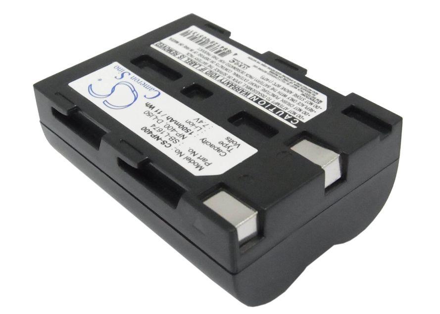 Pentax D-LI50  yhteensopiva akku 1500 mAh