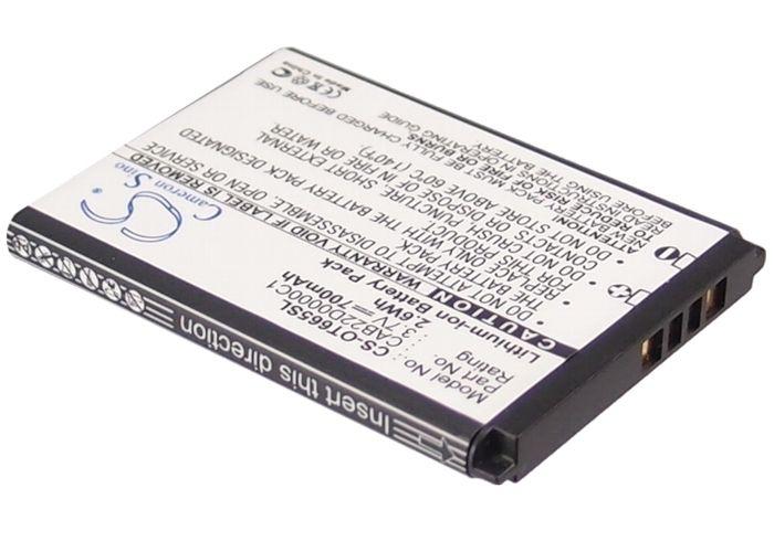 Alcatel One Touch 2012 / One Touch 2010 puhelimen akku 700 mAh