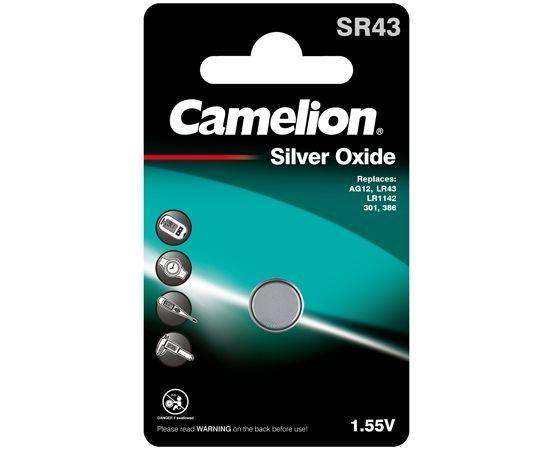 Camelion Nappiparisto SR43 / AG12 / LR43 / LR1142 / 301 / 386