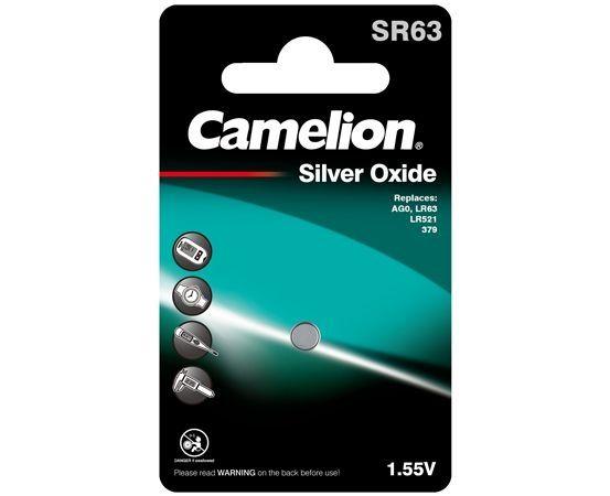 Camelion Nappiparisto SR63 / AG0 / 379S / SR521