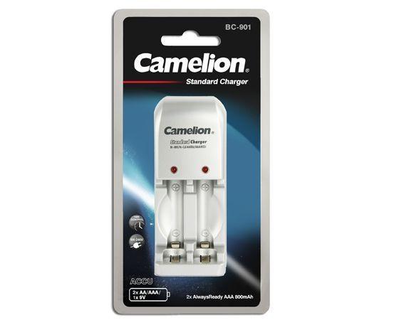 Camelion BC-0901 Plug-In akkulaturi Ni-Cd ja Ni-Mh AA/AAA akuille