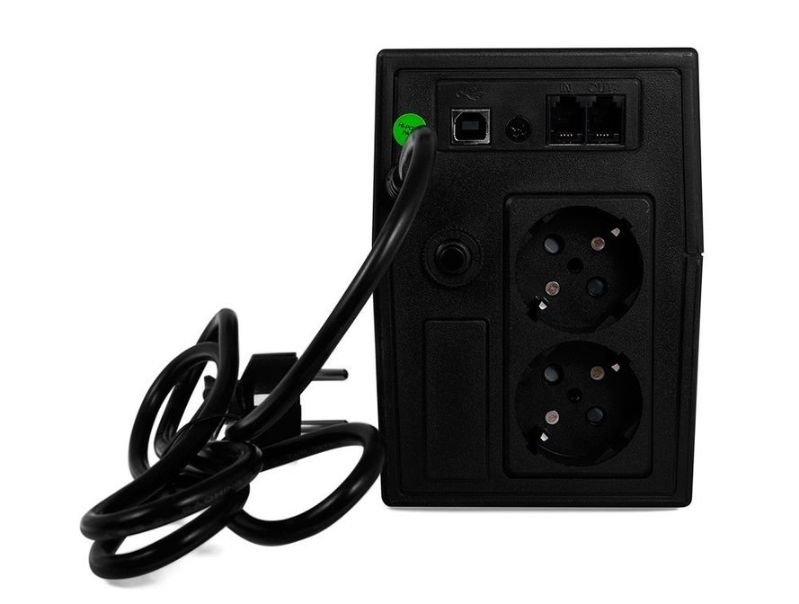 Green Cell ® UPS Micropower 600VA LCD