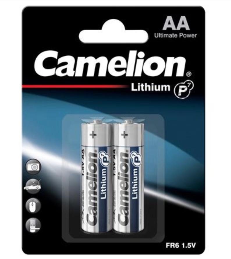 Camelion Litium P7 FR6 AA paristo 1,5V, 2kpl