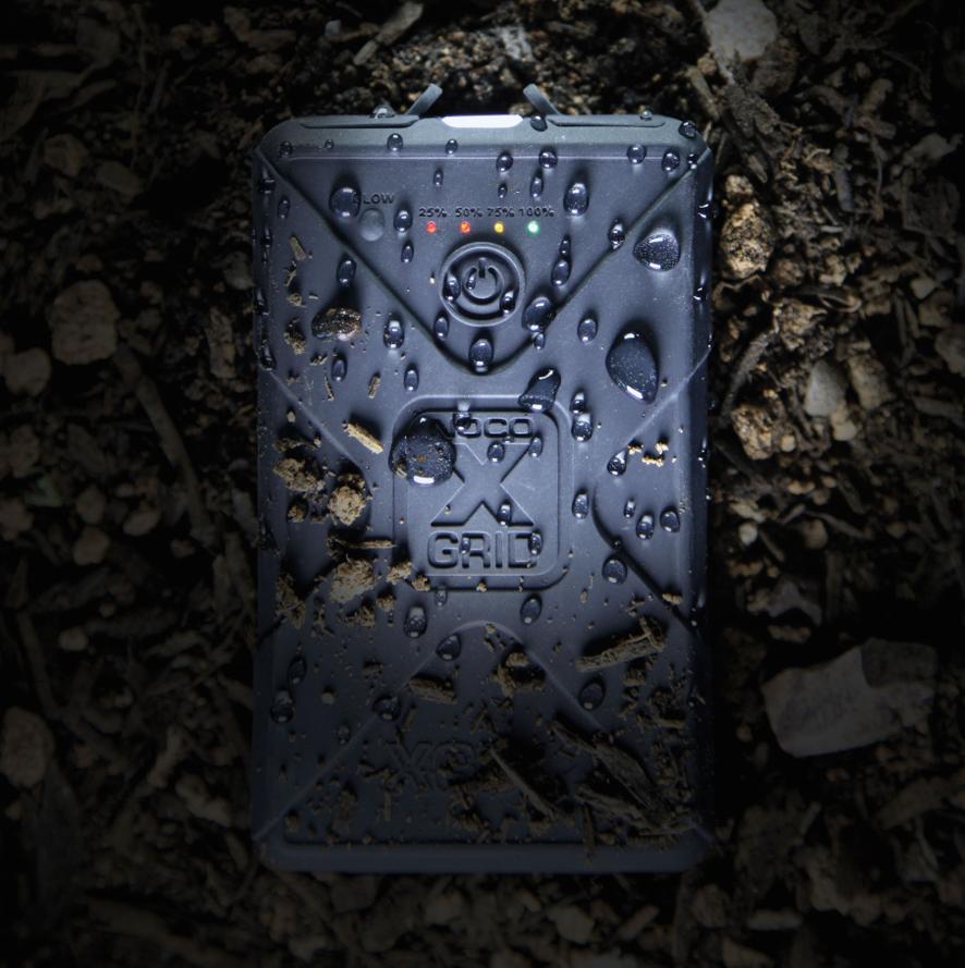 Noco XGB12 lujatekoinen USB-varavirtalähde 12 000 mAh - Musta