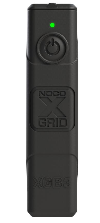 Noco XGS4 USB, 4 W aurinkopaneeli + XGB3-varavirtalähde - musta