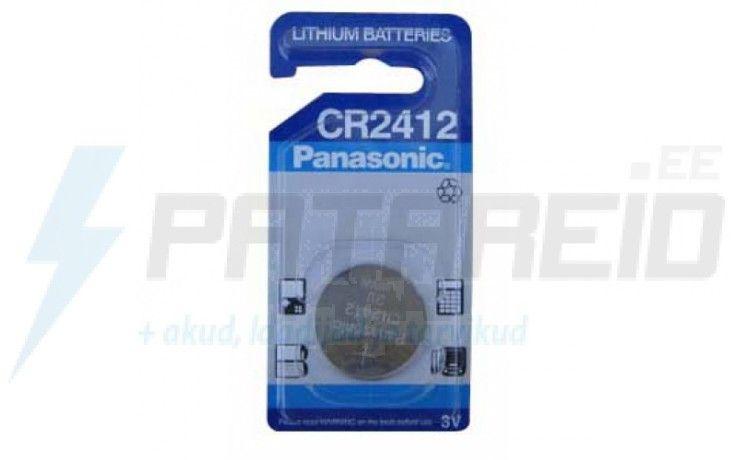 Panasonic CR2412 litium nappiparisto