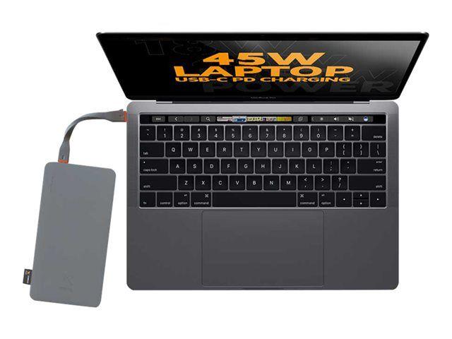 XTORM Power Bank Vara-akku 20 000mAh USB-C PD 45W 3xUSB