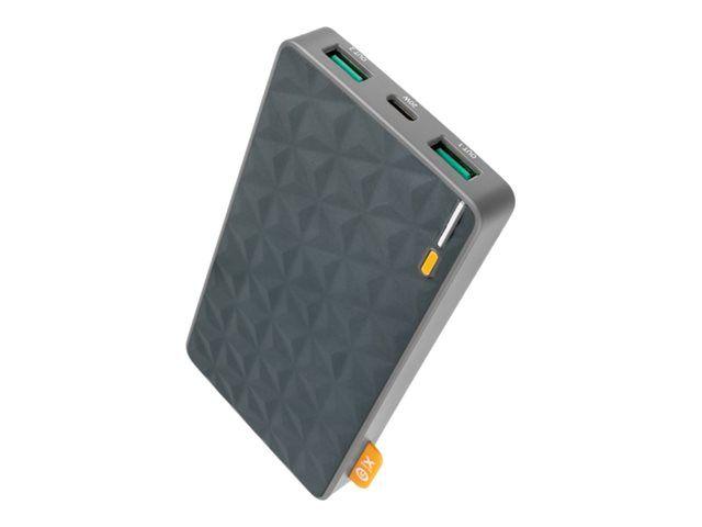 XTORM Power Bank Vara-akku 10 000mAh USB-C PD 20W, 2X USB QC3.0
